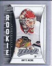 09-10 2009-10 UPPER DECK MVP ANTTI NIEMI ROOKIE RC 340 CHICAGO BLACKHAWKS