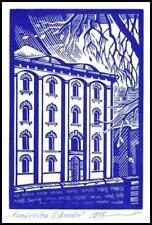 Leonenko Vasyl 1991 Exlibris X3 Project Architecture Toruń p2
