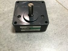 Oriental Motor 4gn9k Gear Head Used