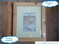 """The Simpsons L'Enfant 12x10"""" Photo Frame with 5 FREE KIT KAT bars - FAST POST"""