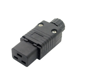16amp C19 Rewireable IEC Socket/Connector Supplied in various pack sizes