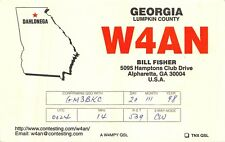 W4AN Bill Fisher Hamptons Club Drive Alpharetta USA   AM.548