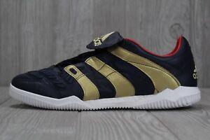 44 Adidas Predator Accelerator TR Zidane ZZ Navy/Gold Mens Soccer Shoes F37095