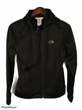 The North Face Women's Hoodie S Small Solid Black Zip Up