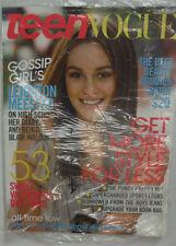 Teen Vogue Magazine Leighton Meester SEALED February 2009 051915R2