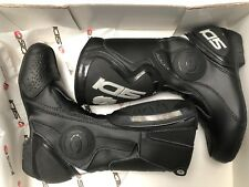 SIDI BLACK RAIN EVO motorcycle Boots Waterproof / Touring size 37 uk 4