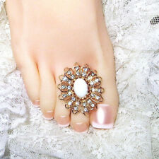 Large Toe Ring Toe Charm Ring Toering Bare Foot Sandal Jewelry Barefoot Jewelry