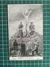 SL057 CPA 1904 WW1 Patriotique religieux - Soldat Jésus sur la croix