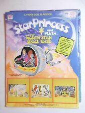 Vintage Star Princess And Pluta Whitman paper Doll book North star base #2 uncut