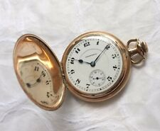 Antique Hampden 17j Pocket Watch Full Hunter Case (Works) No Reserve