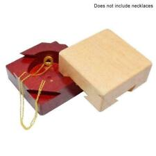 Secret Puzzle Box Brain Teaser Games Wooden Gift Hidden Jewelry Diamond toy K6X0