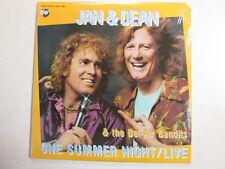 JAN & DEAN ONE SUMMER NIGHT LIVE S/S STILL SEALED RHINO LP CALIFORNIA SOUND OOP