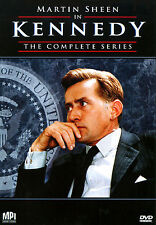 Kennedy - The Complete Mini-Series ~ NEW SEALED DVD JFK