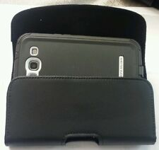 FOR SAMSUNG GALAXY S6 ACTIVE LEATHER POUCH BELT CLIP HOLSTER FIT BODY GLOVE CASE