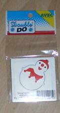 AVEC Double Do SNOWMAN #2 Christmas Die 4250095 Re-Released as X-CUT 5cm x 3.5cm
