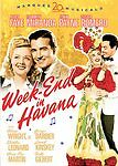 Week-End in Havana (DVD 2006 Alice Faye, Carmen Miranda, Cesar Romero NEW SEALED