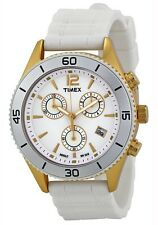 Timex Women's Watch Modern Originals SPORT CHRONOGRAPH T2N827 - Fashion White
