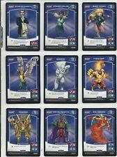 Panini MetaX Justice League 100 Non-Foil Complete Set DC Super-Heroes & Villains