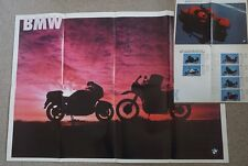 Motocicletas Moto BMW K1 100RS LT K 75 T S R100 Gs Paris 1991 Folleto/cartel