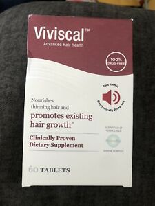 Viviscal women 60 tablets New In The Retail Box Free Shipping Exp 07/2023