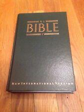 Holy Bible NIV International Bible Society 1984 Hardback New International V....