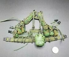 "1:6 BBI USMC ""Sallas"" LBV Load Bearing Vest & Belt 12"" GI Joe Dragon DamToy"