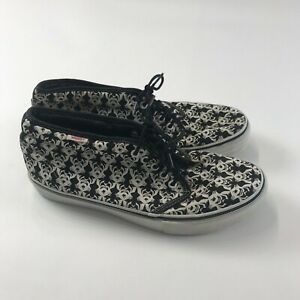 Men's 10 VANS  X ROBERT WILLIAMS Men's shoes Skateboarding lace black white