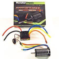 MONSTERTRONIC BRUSHLESS BOOSTER MAX COMBO 1/8  2650KV BRUSHLESS SET 6S BL150 A
