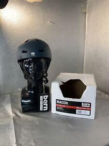 Bern Macon, Cycle Ski Skate Helmet, EPS Matte Muted Teal (navy Blue) L 57-59cm