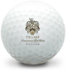 3 Dozen (Trump International Golf Links LOGO) Top Flite  Mint Golf Balls
