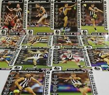 2018 TEAMCOACH COLLINGWOOD FOOTBALL CARD SET