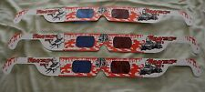 LOT OF 3 NEW FRIDAY THE 13th 3-D GLASSES FROM 1982 Part 3