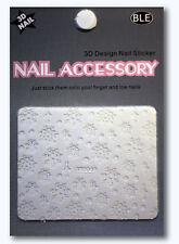 Nailart Nagel Sticker, Weihnachten, Schneeflocken, Aufkleber, SMY049