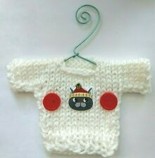 Cat Lovers  Mini Ugly Christmas Sweater   Ornament