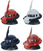 Gundam Exceed Model Vol.2 Zaku Head Figure ~ MS-06 Zaku Whole Set of Four @13483