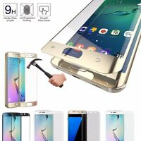 HD Anti Scratch Full Cover Tempered Glass Screen Protective For Samsung S6/7edge