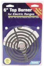 """CAMCO 00103 6"""" INCH OVEN STOVE RANGE TOP BURNER GE AND HOTPOINT PLUG IN 6834931"""