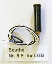 Seuthe Nr. 5 E für LGB, Steck- Dampfgenerator, Rauchsatz, Neu