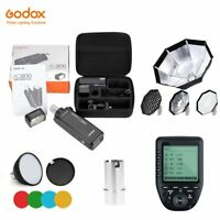 Godox AD200 2.4 TTL HSS Two Heads Flash+ Xpro Trigger+ Color Filter+ Softbox Kit
