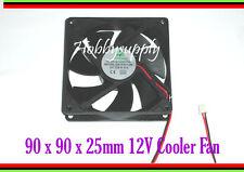 12V 90 x 90 x 25mm DC Axial Cooling,Heatsink,Cooler,Extractor Fan Computer x 1