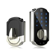 Fingerprint Door Lock, Smart Lock Touchscreen Keypad Keyless Digital Door Lock