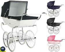 Silver Cross Balmoral Luxury Pram Carriage Stroller Brand New - All Colors