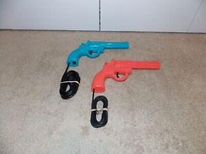SEGA GENESIS + CD: Konami Justifier Light Gun Set (Blue + Pink) Lethal Enforcers