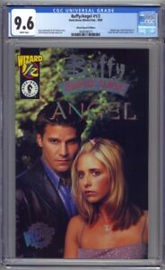 Buffy/Angel #1/2 Wizard Special Edition CGC 9.6 Holofoil Logo (1999) w/COA