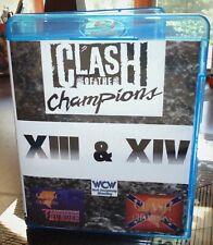 Clash of The Champions XIII XIV 13 14 Blu-ray Wrestling WCW NWA Steiners Sting