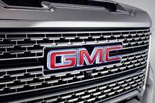 20-21 Gmc Sierra Front Emblem- Gmc Illuminated Red- Gm Brand New- # 84741557 (Fits: Gmc)