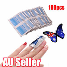 100Pcs Gel Polish Remover UV Soak Off AcetoneRemoval Wraps Nail Art Cleaner ON