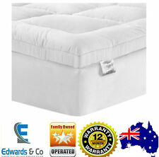 Queen Bed Mattress Protector Memory Resistance Pillow Top Size Foam Sewn Pocket