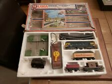 More details for boxed vintage lima models diesel freight electric train set battery powered