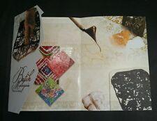 Malaysia Batik 2017 Art Handicraft Fashion Flower Design Cloth Paint (folder)